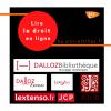 Lire le droit en ligne avec Dalloz, Lexis, JStor, lextenso etc.